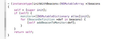 ibeacon-init